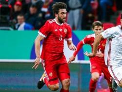 Джикия отыграл один гол в матче с Бельгией, это его первый результативный удар