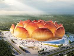 Как будет выглядеть стадион в Китае за 1,56 млрд евро на 100 000 мест