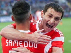 Дзагоев и Жирков тренируются по индивидуальной программе перед матчем с Уругваем