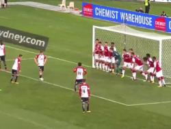 """""""Арсенал"""" пропустил после свободного, когда вратарь взял мяч в руки от защитника"""