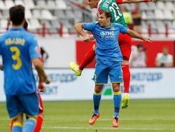 Калачёв выбил три зуба защитнику сборной Люксембурга