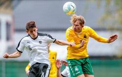Фитц помог «Аустрии» победить в первом матче плей-офф