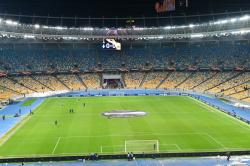 Матч Украина  Франция приостанавливался из-за фаната