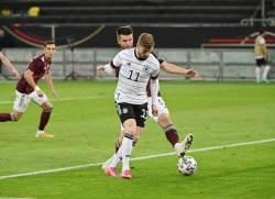 Вернер опасается атакующего трио сборной Франции