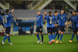 Сборная Италии не проигрывает 26 матчей кряду