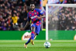 Барселона надеется расстаться с Юмтити в январе