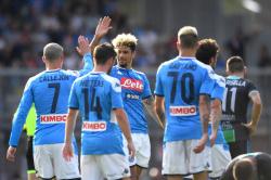 Наполи забил в ворота Удинезе пять мячей и снова стал вторым
