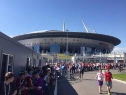 На матчи Евро-2020 в Петербурге подали заявку почти миллион человек
