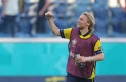 Форсберг - автор самого быстрого гола на Евро-2020, рекорд Кириченко держится