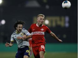 Байрамян: «Бежал в сторону от мяча и почувствовал, что соперник опустился мне на ногу»
