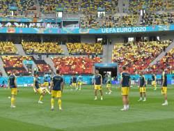 Зеленский пообщался со сборной Украины перед матчем с Англией