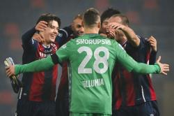 «Болонья» победила в первый раз с осени