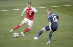Эриксена признали лучшим игроком матча Дания  Финляндия