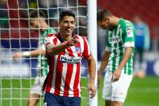 Суарес принёс победу «Атлетико» на 89-й минуте ударом в стиле Паненки
