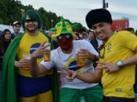 Сэйв сквозь сетку - чудеса по-бразильски
