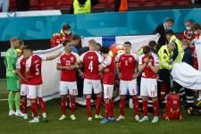 Тренер сборной Дании: «Думаю, нам не следовало продолжать матч»