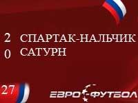 """""""Спартак-Нальчик"""" обыграл дома """"Сатурн"""""""