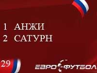 """""""Сатурн"""" обыграл """"Анжи"""" в Махачкале"""