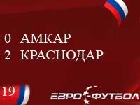 """О бедном """"Амкаре замолвите слово: пермяки дома уступили """"Краснодару"""""""