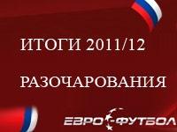 Итоги чемпионата России. Часть 2. Разочарования