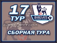Символическая сборная 17-го тура чемпионата Англии