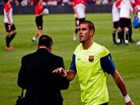 """Вальдес может остаться в """"Барселоне"""""""