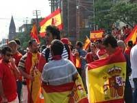 Футболисты сборной Испании примерили костюм человека-паука