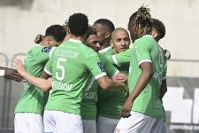 «Сент-Этьен» добыл волевую победу в матче с «Монпелье»