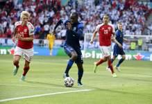 Матч Дания – Финляндия возобновился