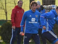 Трое игроков сборной России тренируются индивидуально