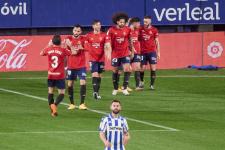 «Осасуна» вырвала победу в матче с «Алавесом»