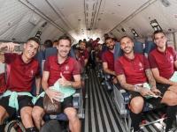 Португалия прибыла в Андорру на военном самолёте