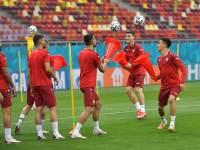 Видео необычного упражнения на тренировке сборной Северной Македонии
