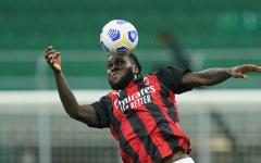 «Милан» вырвал ничью в матче с «Удинезе» на 90+7 минуте