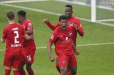 «Герта» одолела «Боруссию» из Мёнхенгладбаха, забив один мяч