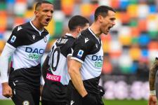 «Удинезе» забил четыре мяча в ворота «Беневенто»