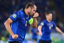 Кьеллини вернулся после травмы, но не сыграет против Австрии