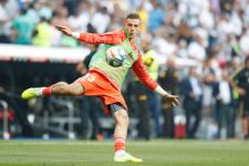 Украинец Лунин вышел за «Реал» в товарищеском поединке