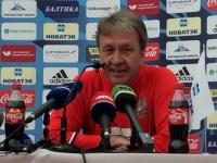 Балахнин считает совмещение должностей тренера в сборной и клубе нереальным