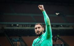 Доннарумма расплакался после встречи с фанатами «Милана»