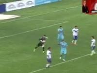 Вратарь забил со своей половины в чемпионате Боливии