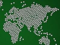 Как будет выглядеть футбольная карта 2050 года