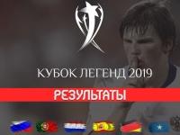 Сборная России выиграла Кубок легенд, разгромно победив Германию