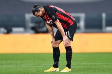 «Милан» назвал сроки восстановления Ибрагимовича, форвард пропустит Евро-2020