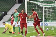 «Бавария» дежурно обыграла «Вердер» и стала чемпионом Германии восьмой раз подряд