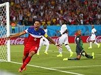 США вырвали у Ганы победу