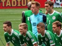 Германия на последних минутах выиграла у Испании в Виго