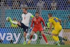 Матч Англия - Украина стал рекордным у британских телезрителей