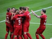 Дания забила 5 мячей Израилю, Шотландия вышла на второе место, Молдова проиграла Фарерам