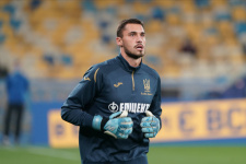 Вратарь сборной Украины: «Запомним этот урок и не повторим ошибку в следующем матче»